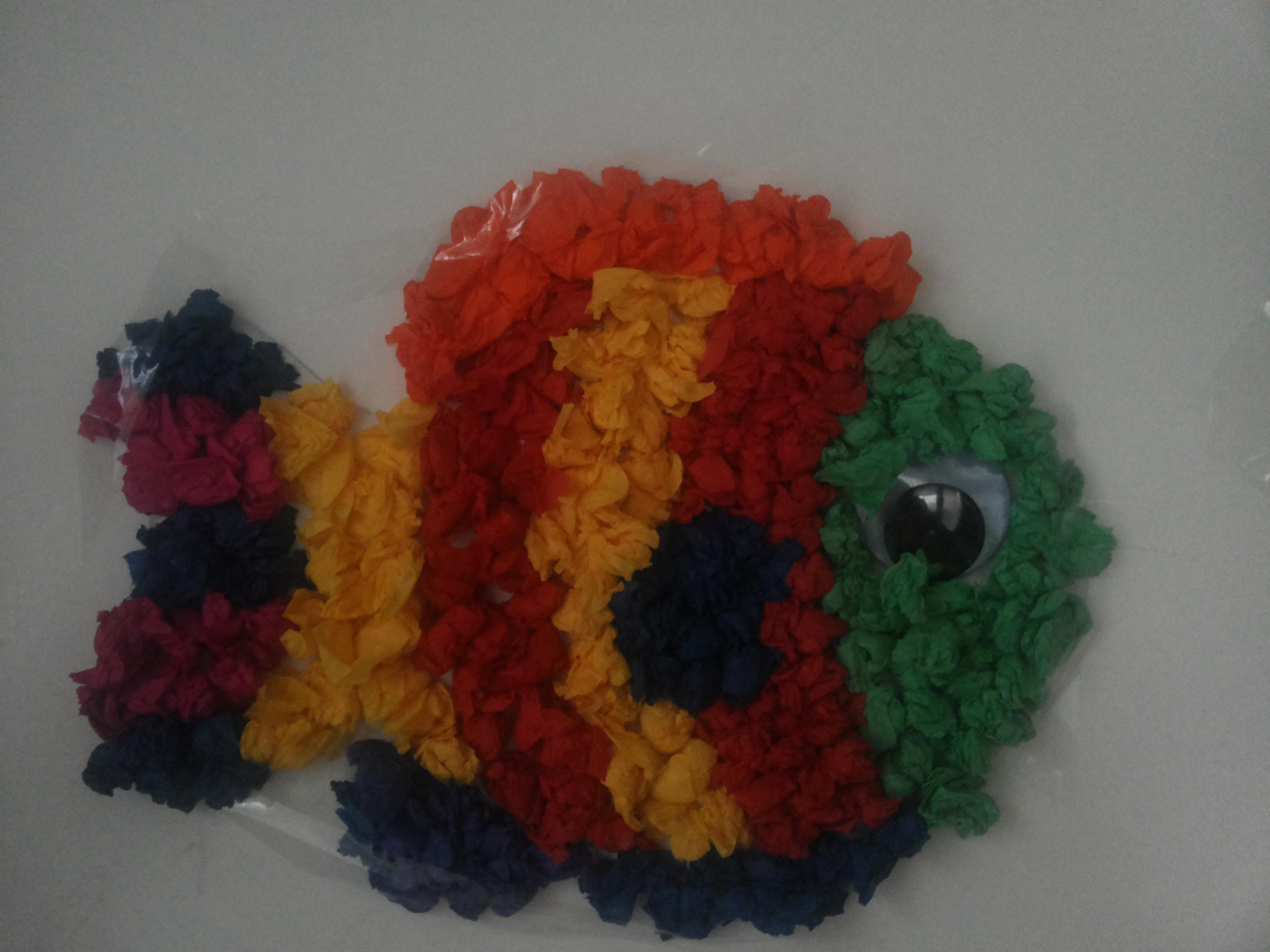 Cose Creative Con La Carta lavoretti per bambini: decorazioni con carta velina