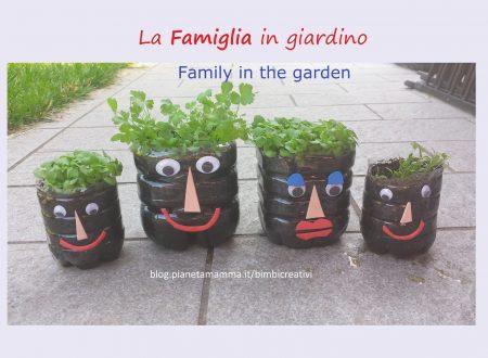 La famiglia…in giardino – Chia Pet Homemade
