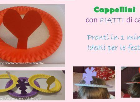 Cappelli con Piatti di carta – Paper Plate Hats