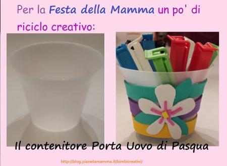 """Festa della Mamma: ricicliamo i """"Porta uovo di Pasqua"""""""