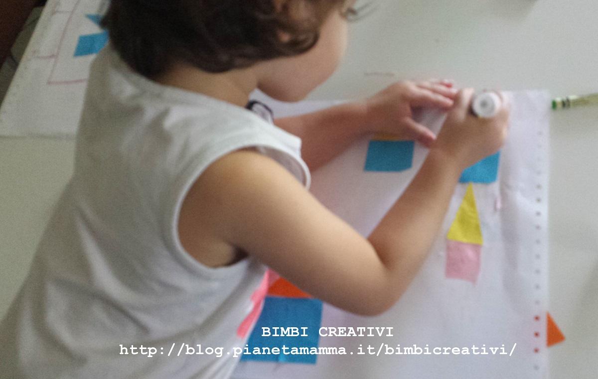 Oggi Proviamo Il Collage Bimbi Creativi