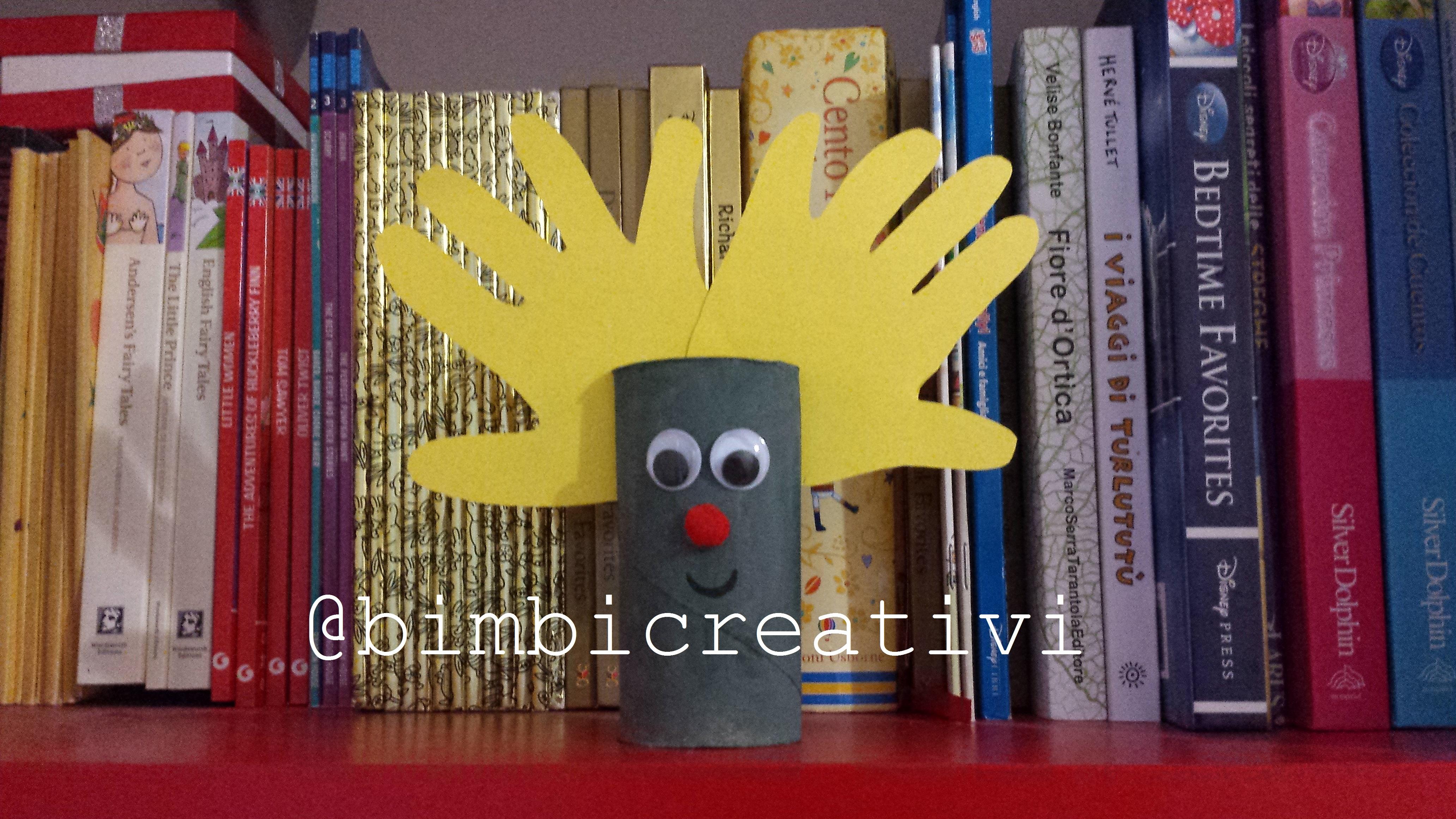 Rotoli Di Carta Igienica Lavoretti Natalizi : Come fare una renna natalizia con i rotoli di carta bimbi creativi