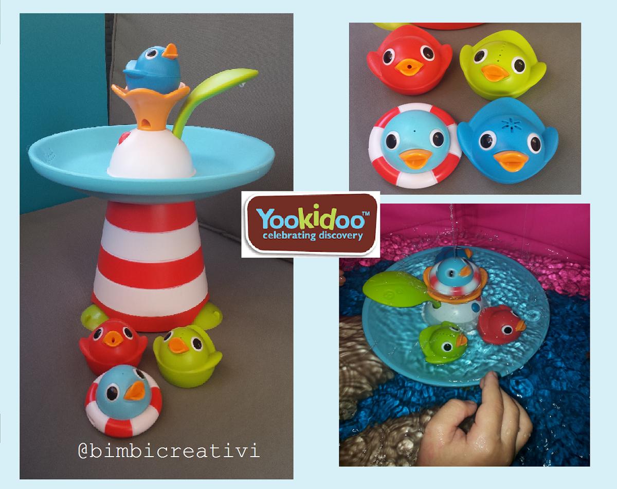 Yookidoo gara delle anatre musicale gioco acquatico for Vasca per anatre