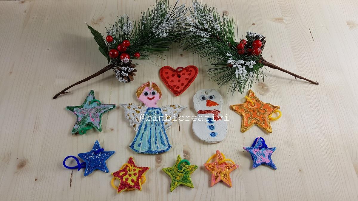 Lavoretti Di Natale Col Das.Natale Facciamo Le Decorazioni Con Il Das