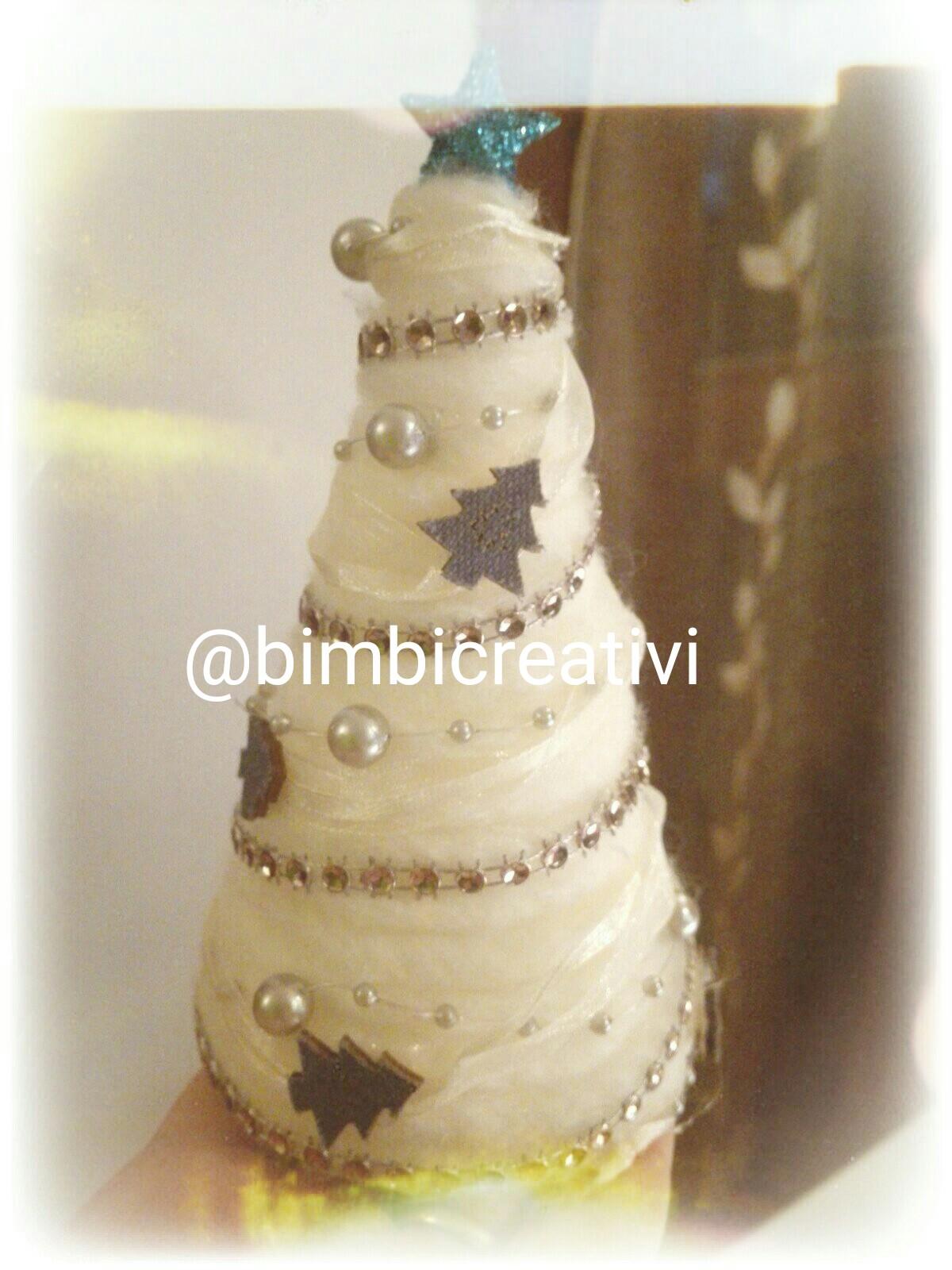 Favoloso Albero di NATALE bianco - Bimbi Creativi JQ68