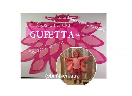 SUPER PIGIAMINI: il costume da GUFETTA fai da te (Senza cuciture! Facilissimo) / PJ Masks: Owlette Costume DIY