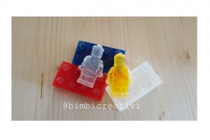 Saponette fai da te a forma di LEGO