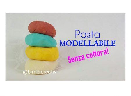 Pasta modellabile tipo Didò SENZA COTTURA