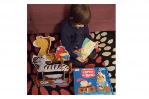 L'Arca di Noè – Puzzle Gigante 3D e Libro (Sassi Junior)