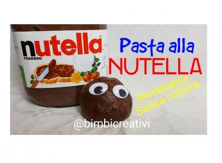 Pasta modellabile alla NUTELLA