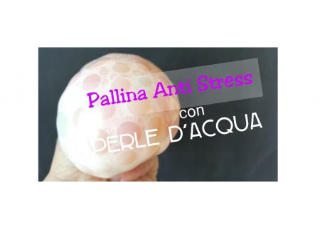 PALLINA Anti Stress con PERLE D'ACQUA (Waterbeads)