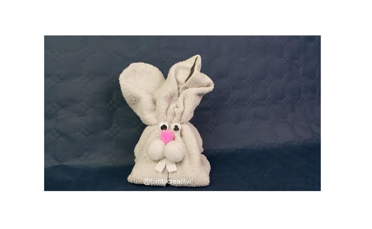 Piegare Gli Asciugamani A Forma Di Animale : Coniglietto asciugamano bimbi creativi