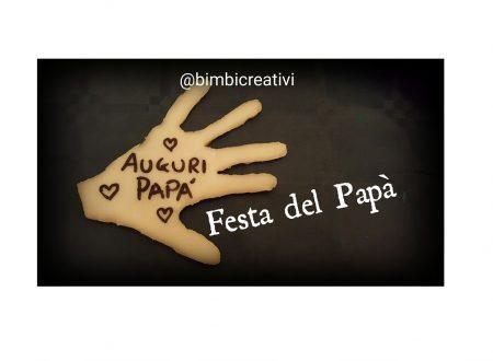 Impronta con la Pasta di Mais (Festa del Papà)