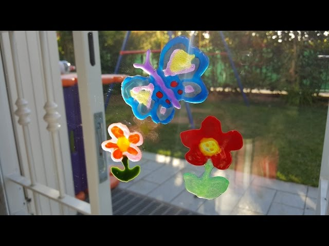 Decorazioni da finestra fai da te bimbi creativi - Finestra fai da te ...