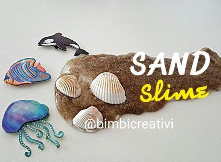 SAND SLIME – lo slime alla sabbia