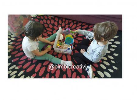 FAGIOLI e POMPON: come intrattenere i bambini per ore