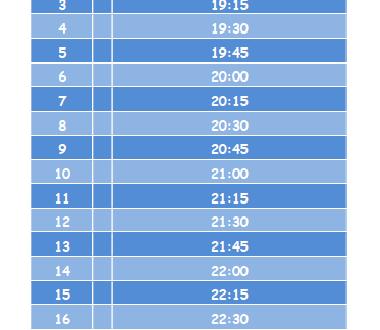 Quando mettere a NANNA i bambini (tabella scaricabile)