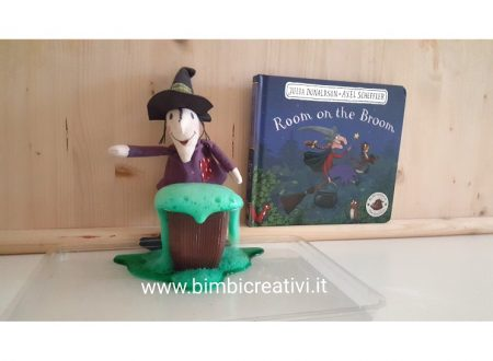 LA STREGA ROSSELLA (ROOM ON THE BROOM) di JULIA DONALDSON – SFIDA CREATIVA