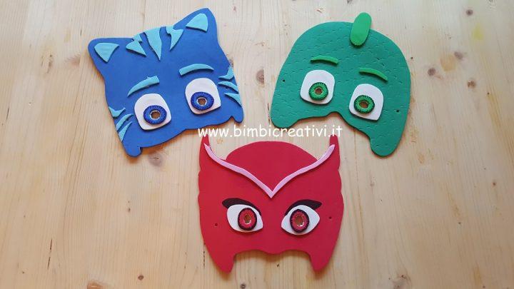 Le Maschere Dei Super Pigiamini Pj Masks Con Modello Stampabile