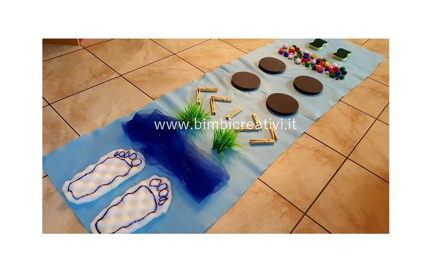 Tappeti Colorati Per Bambini : Tappeto con percorso tattile bimbi creativi