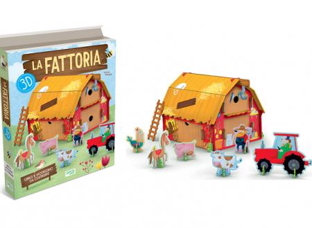 LA FATTORIA 3D – ED. SASSI JUNIOR (Recensione)