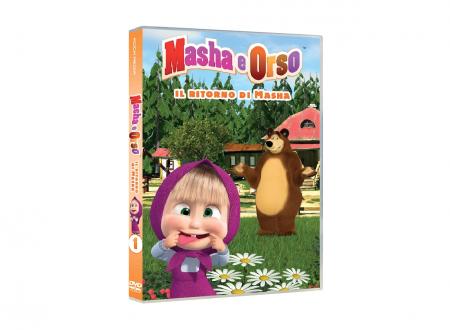MASHA E ORSO: IL RITORNO DI MASHA dvd – KOCH MEDIA (Recensione)
