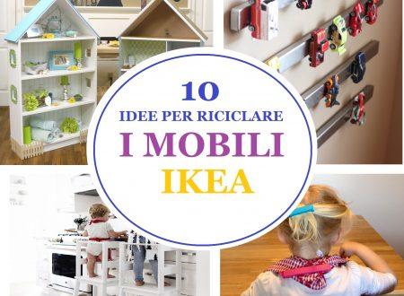 10 IDEE PER TRASFORMARE I MOBILI IKEA / IKEA HACK IDEAS