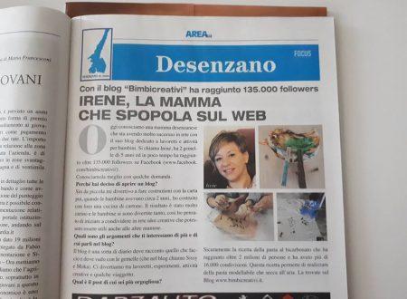 IRENE, LA MAMMA CHE SPOPOLA SUL WEB – AREA BLU
