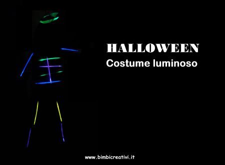 HALLOWEEN: COSTUME LUMINOSO
