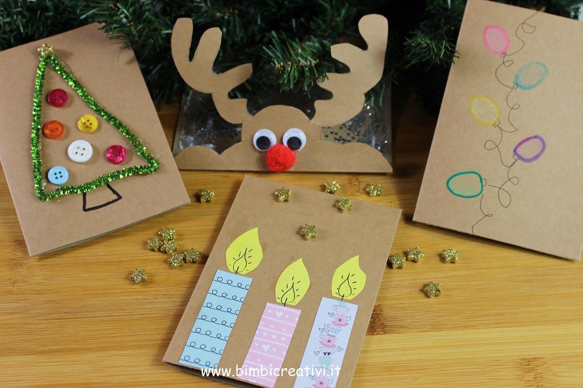 Biglietti Di Natale Fai Da Te Facilissimi Bimbi Creativi