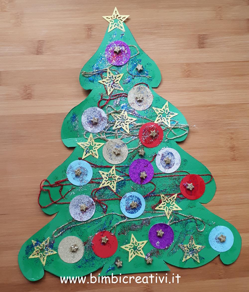 Stelle Di Natale Da Costruire natale: albero di carta da fare con i bambini