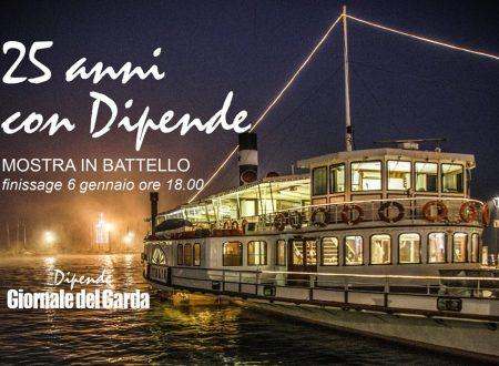 """LABORATORIO CREATIVO SUL BATTELLO PER I """"25 ANNI CON DIPENDE"""""""