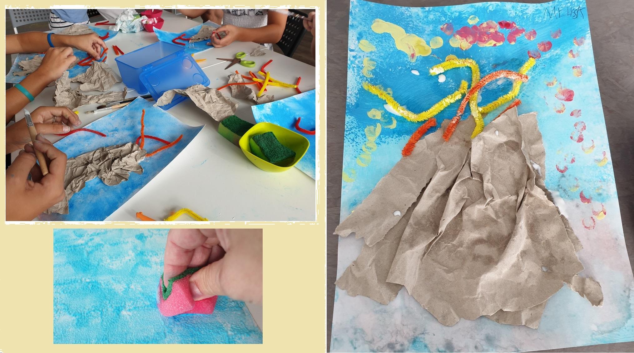 Vulcano Fai Da Te Lavoretto Ed Esperimento Per Bambini Bimbi Creativi