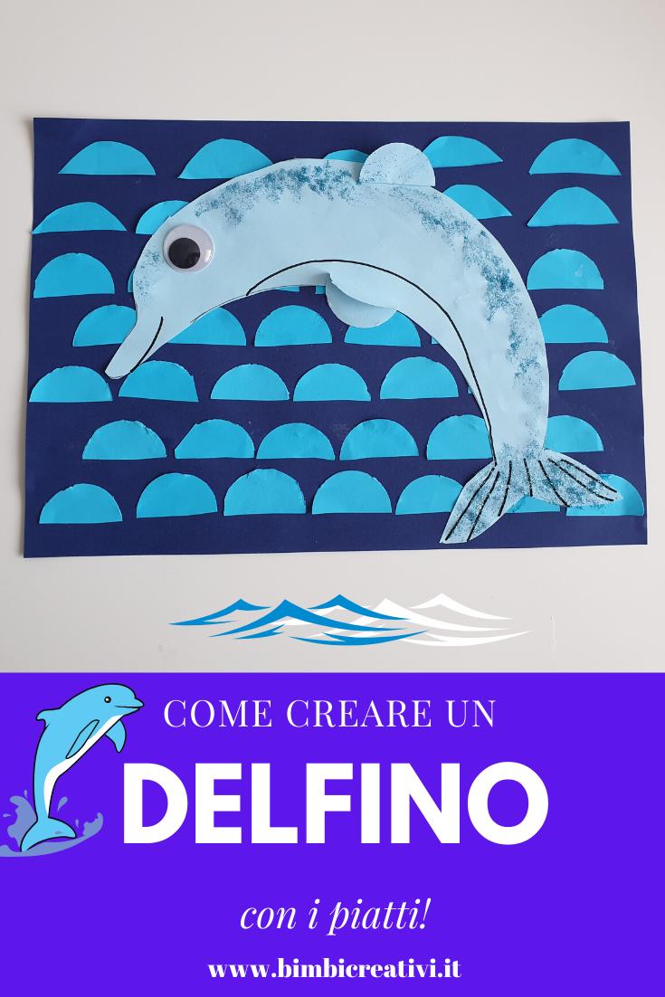 DELFINO CON I PIATTI