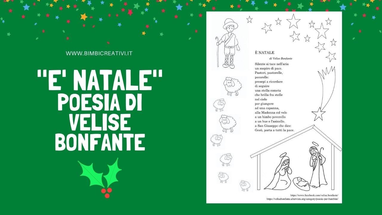 Poesie Di Natale In Rima.Poesia Di Natale E Natale Di Velise Bonfante Bimbi Creativi
