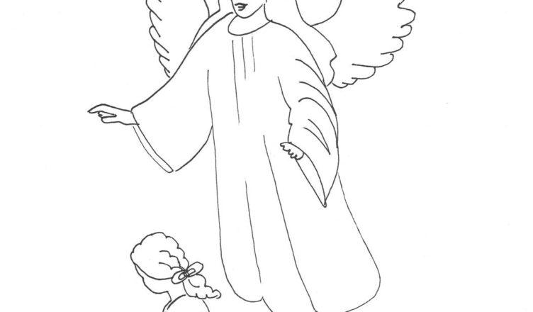 bimbi-creativi-angelo-da-colorare-e-scaricare-gratuitamente