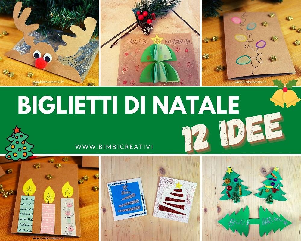 Per Fare Gli Auguri Di Natale.12 Biglietti Di Auguri Di Natale Fai Da Te Bimbi Creativi