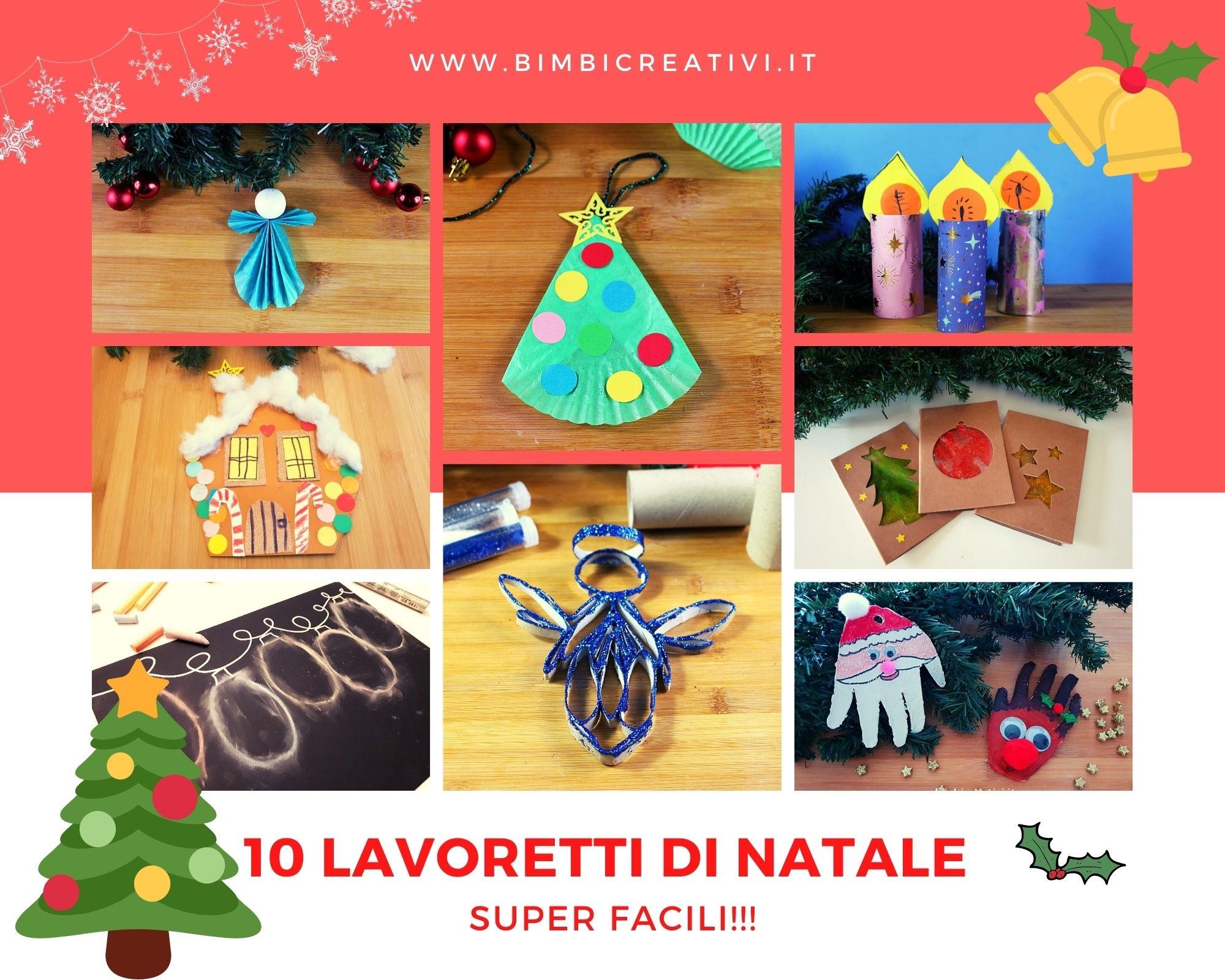 Lavoretti Natale.10 Lavoretti Per Natale Da Fare Ai Tempi Del Coronavirus Bimbi Creativi