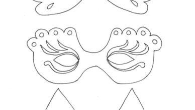 bimbi-creativi-disegno-maschere-carnevale