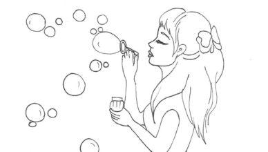 bimbi-creativi-ragazza-che-fa-le-bolle