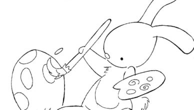 bimbi-creativi-coniglietto-dipinge-uova