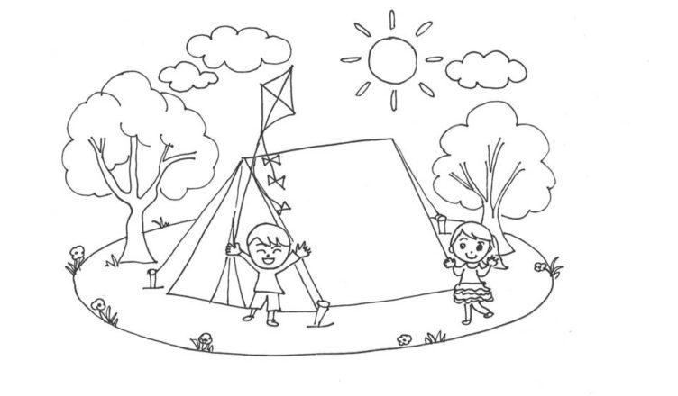 bimbi-creativi-disegno-campeggio
